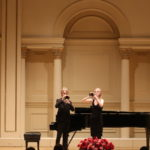 Aled and Matisse at Carnegie Hall
